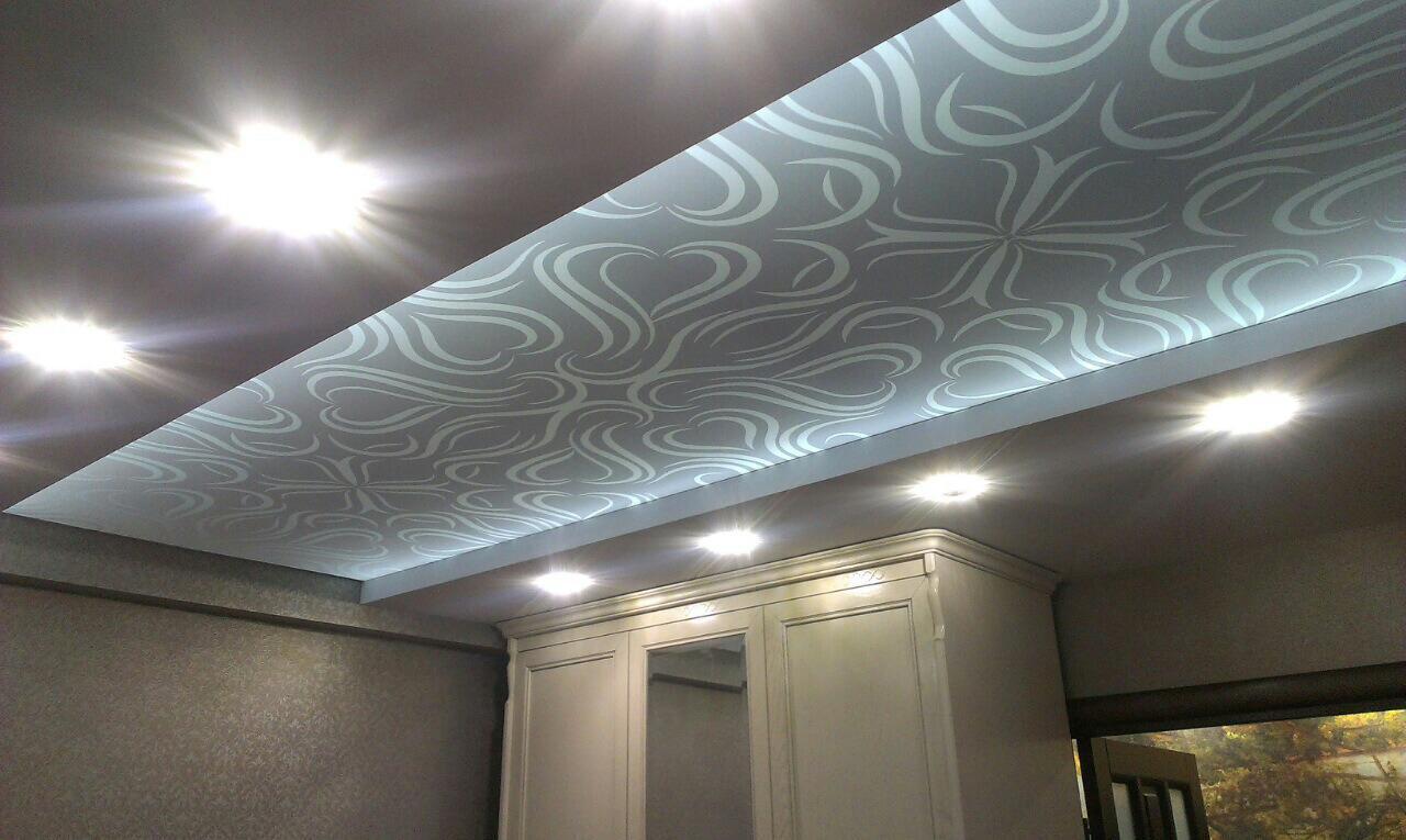 Тканевые потолки